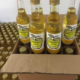 twelve 250ml bottles Turmiracle Juice