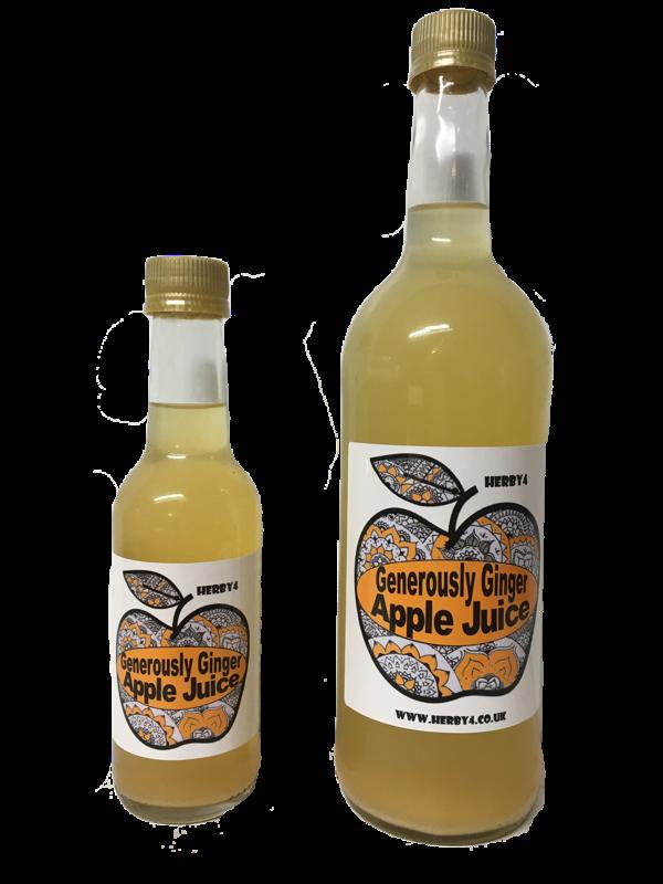 Generously Ginger apple juice